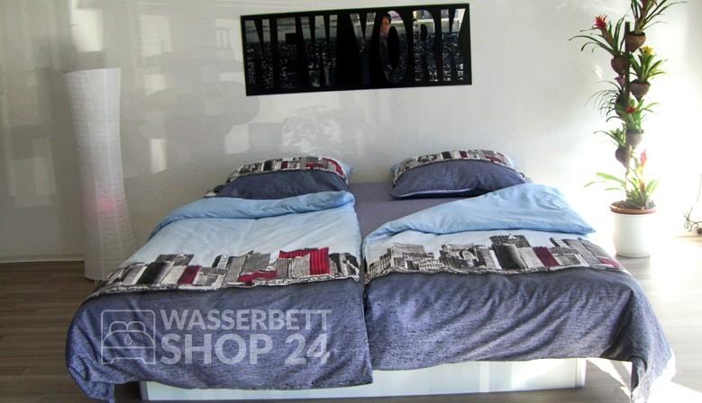 wasserbett shop 24. Black Bedroom Furniture Sets. Home Design Ideas